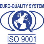 Iso 9001 logo industrial steel pickling