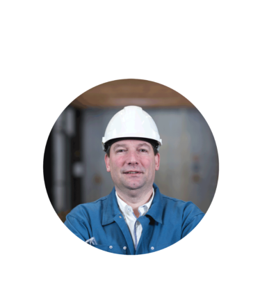 Denis Lafontaine DE LEUZE steel project manager