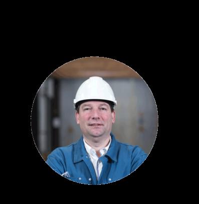 Denis Lafontaine DE LEUZE steel project manager